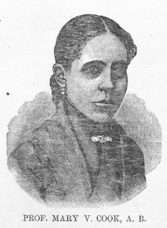 Prof. Mary V. Cook, A. B.