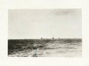 Minelayers at sea. North Sea. Sept., 1918