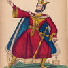 Mr. G. Bennett as King in Hamlet