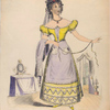 Miss Bartalozzi as Susanna, in the Marriage of Figaro.