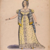 Miss C. Boden as Lady Effie in the Outlaw's Oath.