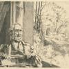 Meyer-Heine, chef émailleur de la manufacture de Sèvres, gravé d'après nature.]