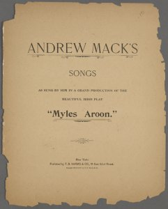 [The art of making love] / [words and music by] Andrew Mack.