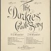 The darkies' cradle song