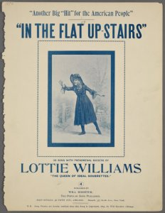 In the flat upstairs / [words by W.C. Robey; music by W.R. Williams].