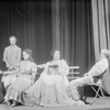 L to R: Dorothy Yockel (Masha), Ian M. Wolfe Harold (Medvedenko), Barbara Bulgakova (Nina Zarechnaia), Dorothy Sands (Irina Arkadina), E. J. Ballantine (Sorin).
