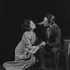 Dorothy Sands as Irina Arkadina and Lewis Leverett as Konstantin.
