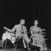 Walter Abel as Boris Trigorin and Barbara Bulgakova as Nina Zarechnaia.