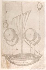 [Design for a flying machine (fig. III).]