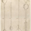 Inventions of thermoscopes, for indicating changes of temperature (figs. VI-X).]