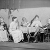 L to R: Isabel Vernon (Mme. Voinitskaya), Joanna Roos (Sonia), Eduardo Cianelli (Ilya), Lillian Gish (Helena) and Osgood Perkins (Michael).