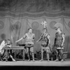 Henry Hull as Alexander (centre), A. E. Anson as Aristotle (extreme left).