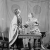 A. E. Anson as Aristotle and Henry Hull as Alexander.