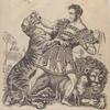 Van Amburgh, the Brute Tamer of Pompeii