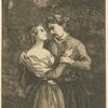 [Un homme et une jeune femme se tenant les mains.]