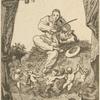 [Frontispice pour les Odes funambulesques, de Th. de Banville.]