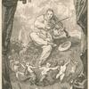Frontispice pour les Odes funambulesques, de Th. de Banville