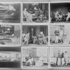 Key sheet (9 shots). [Lynn Fontanne (Nina), Earle Larimore (as Sam Evans), Glenn Anders (as Edmund Darrell), Tom Powers (as Charles Marsden), and Helen Westley (as Mrs. Amos Evans), Philip Leigh (as Prof. Leeds)]