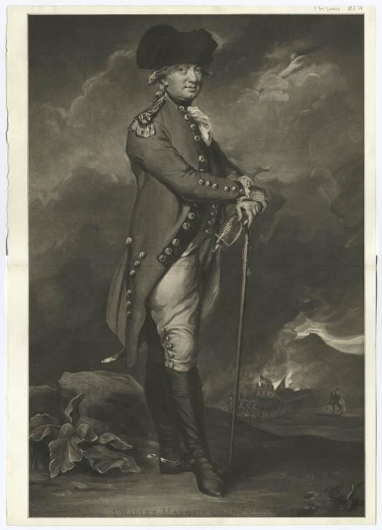 This is What Charles Cornwallis Cornwallis Looked Like  in 1795