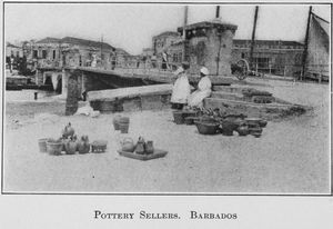Pottery sellers, Barbados.