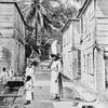 A street in Lucea.