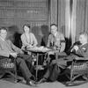 Ernest Glendenning (Edward Darrell), Elizabeth Risdon (Nina), Erskine Sanford (Charles Marsden) and Richard Barbee (Sam).