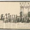 XII Otdel. Pechal'naia Kolesnitsa s telom v boze pochevaiushchei Gosudaryni Imperatritsy Marii Feodorovny.