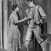 Sylvia Field (Helena) and Albert Van Dekker (Radius, a robot).