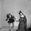 "Charles Weidman and Eugeniae Liczbinska in music-dance-drama ""Music of the troubadours"" (Neighborhood Playhouse Production, New York, 1931)"