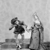 "Charles Weidman and Eugenia Liczbinska in music-dance-drama ""Music of the troubadours"" (Neighborhood Playhouse Production, New York, 1931)"