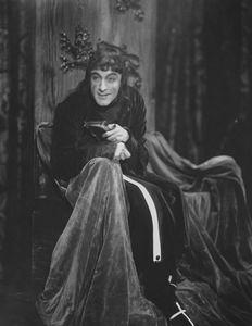 John Barrymore as Richard III.