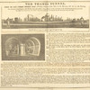 The Thames Tunnel. Open to the public every day (Sundays excepted) from nine in the morning, till six in the evening...