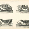 Fig. 14. - Small state coach of Queen Victoria; Fig. 15. - Full dress landau of Queen Victoria; Fig. 16. - Landau used for the Diamond Jubilee of Queen Victoria, 22nd June, 1897; Fig. 17. - Landau used for the entry of Princess Alexandra of Denmark into London, 10th of March, 1863. Great Britain.