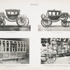 Fig. 62. - State coach; Fig. 63. - State coach; Fig. 64. - State (bridal) carriage, used by Elector Johann Friedrich, the Magnanimous of Saxony, and his bride, Duchess Sybilla of Cleve, on their entry inot Torgau, 1527; Fig. 65. - Bridal carriage used by Duke Johann Casimir, of Saxe Coburg, and Princess Margaretha, of Brunswick, 15th September, 1599. Saxony.