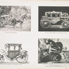 Fig. 122. - Turkish carriage; Fig. 123. State carriage of Viceroy of Egypt; Fig. 124. - State carriage of the Empress of China; Fig. 125. - One wheel vehicle, such as ply for hire in the streets of Shanghai, China. (Portraits of an English missionary and his wife.).