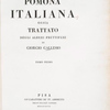Pomona Italiana, Vol. 1, [Title page]