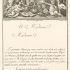 [À Madame Madame' [dedication with illus. by Helman.]