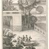 Confucius, âgé de cing ou six Ans, se diverstit avec les jeunes compagnons de sonenfance.