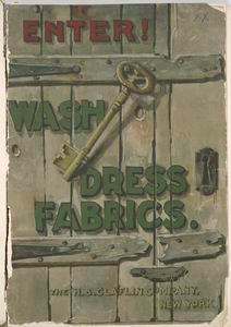 Enter. Wash dress fabrics, MDCCCCIIII.