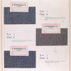 Class A: swatches of fabric.
