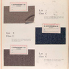 Class C: swatches of fabric.