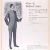 Class E: bullock suits; No. 5. The new Salisbury cutaway suit.