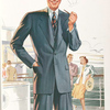 Model No. 702. Young men's two-button notch lapel style.
