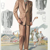 Model No. 711. Two-button notch lapel sports style.