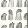 Various methods in lining coats: one-half-, yoke-, three-eihgths-, body-, one-third-, one-eighth-, one-quarter lined.