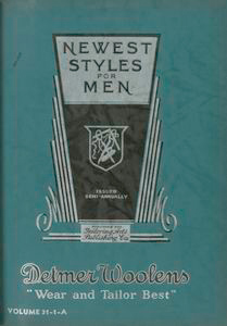 Newest styles for men. Volume 31-1-A.