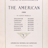 The American [Title page].