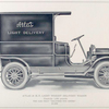 "Atlas 20 h. p. light weight delivery wagon; Capacity 1,200 pounds; The car that ""delivers the goods""; $ 1,900."