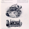 Specifications for Firestone-Columbus Model 5002 (oiling system, carburetor, cooling system, ignition, motor control, clutch).