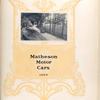 Matheson motor cars, 1909 [Title page].